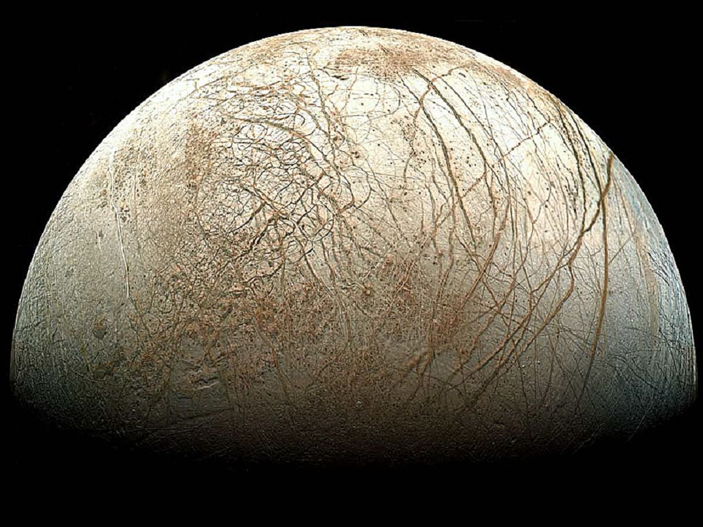 Europa (Quelle: NASA, picture of  the day)